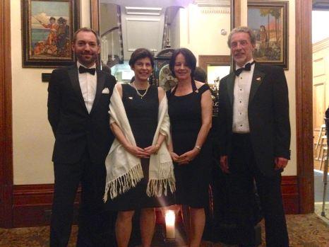 Embassy guests and Hon Consuls