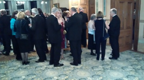 Reception in the Drawing Room