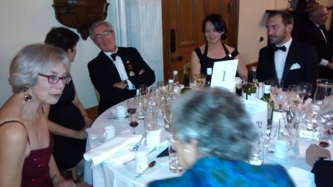 Top Table at Gala Dinner